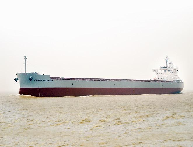 """常石造船海外集团公司的常石集团(舟山)造船有限公司,总计建成、交付了""""卡姆萨型""""散装货物船系列船的第180艘船"""