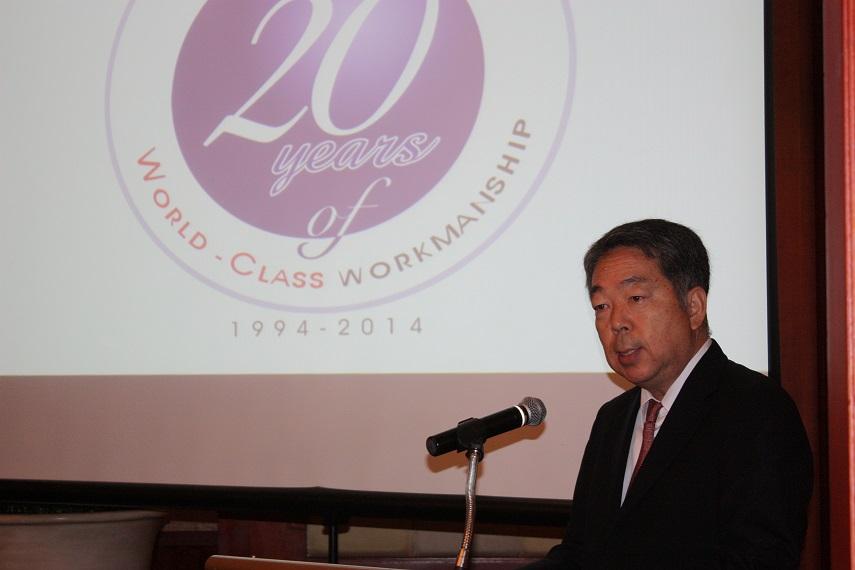 常石造船株式会社专务董事,海外事业负责人河野健二先生发言