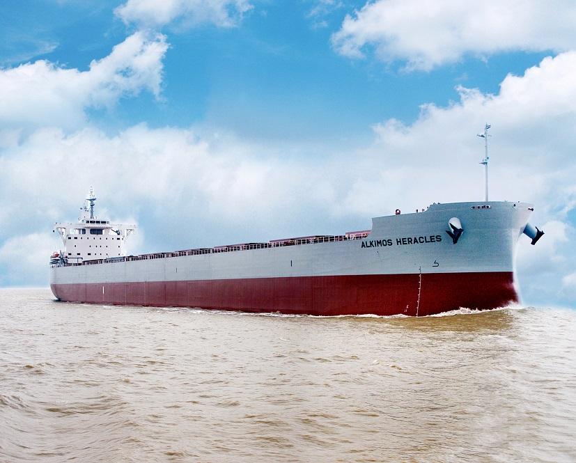 """常石造船海外集团公司的常石集团(舟山)造船有限公司,建成、交付了""""卡姆萨型散装货物船""""系列船的第191艘船舶"""