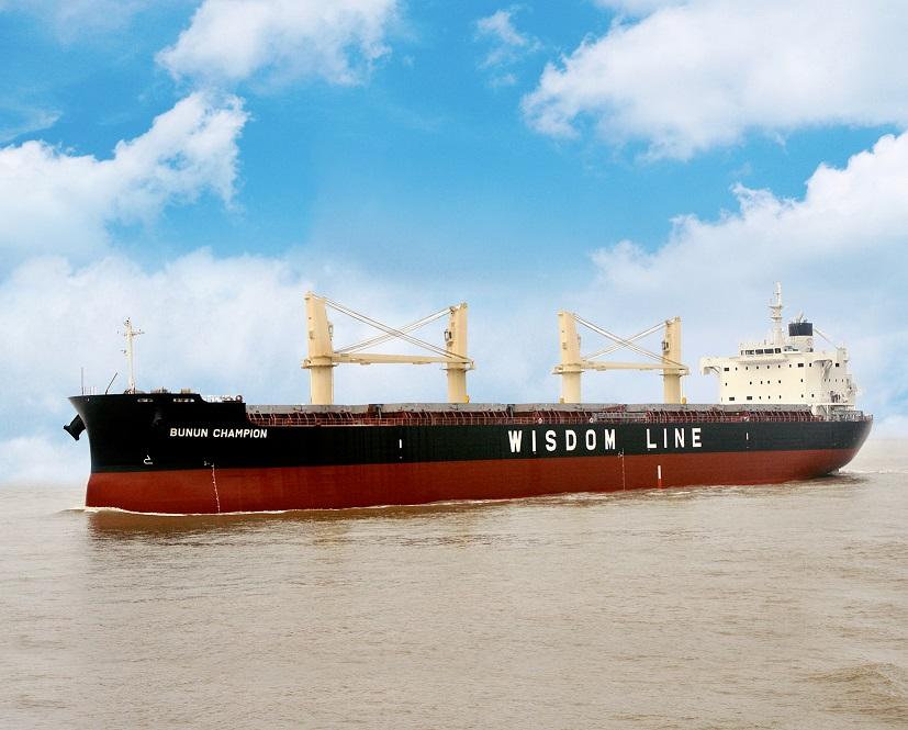 """常石造船的海外集团公司常石集团(舟山)造船有限公司,于9月10日建成并交付了TESS45后继船型""""TESS45BOX""""第2艘船"""