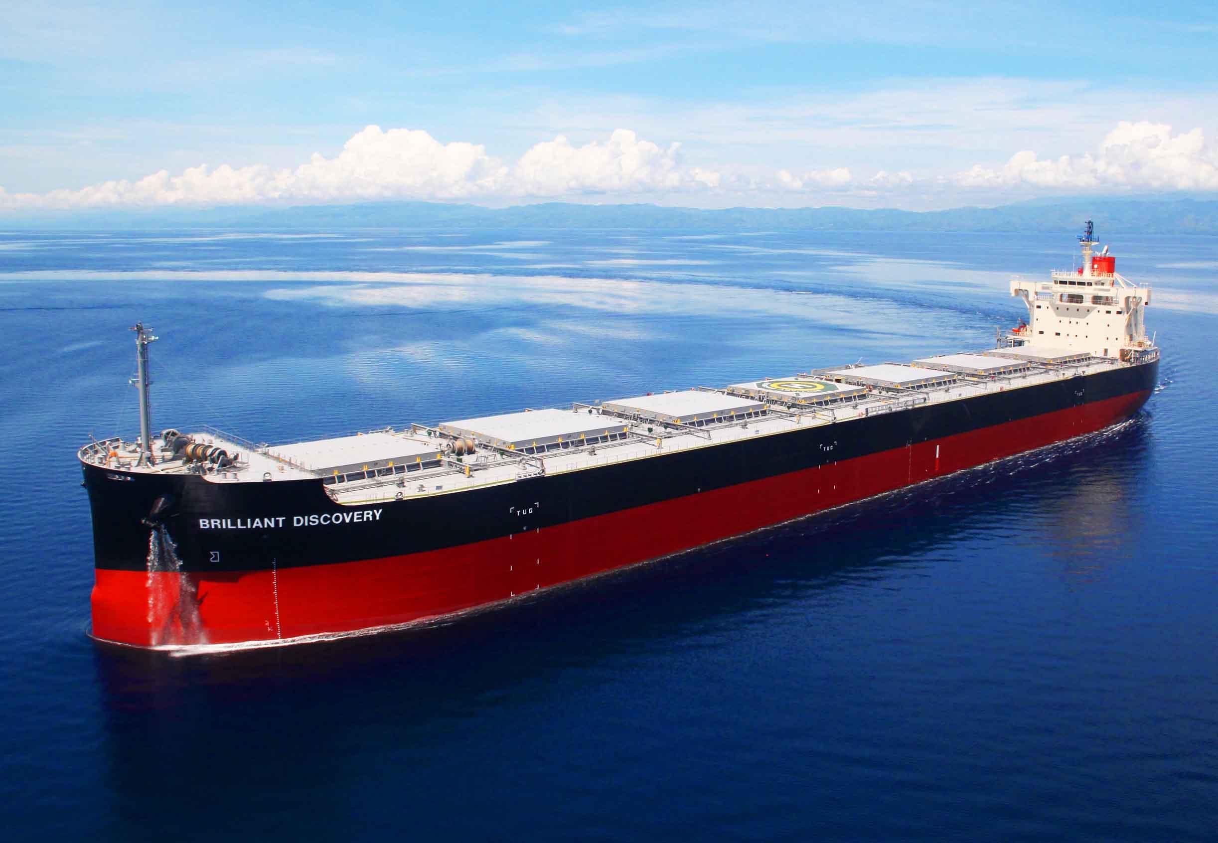 """常石造船海外集团公司的TSUNEISHI HEAVY INDUSTRIES (CEBU), Inc.于本月建成、交付了""""卡姆萨型散装货物船""""系列船的第193艘船舶"""
