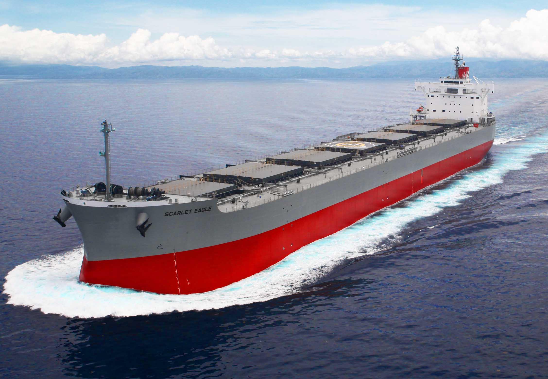 """常石造船海外集团公司的TSUNEISHI HEAVY INDUSTRIES (CEBU), Inc.于本月建成、交付了""""卡姆萨型散装货物船""""系列船的第194艘船舶"""