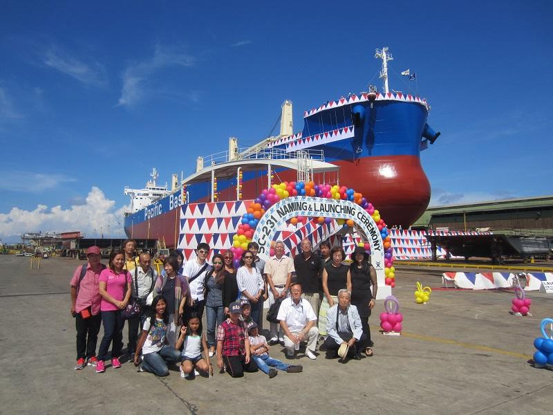 TSUNEISHI HEAVY INDUSTRIES (CEBU), Inc.邀请宿雾日本人会参加于10月22日举行的5万8千吨散货船
