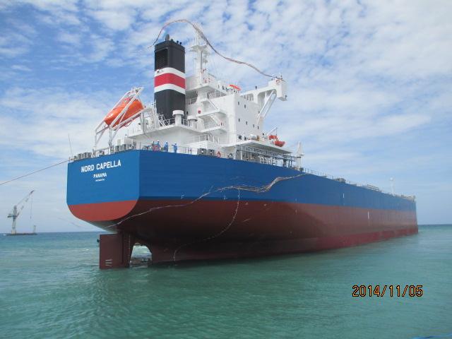 """常石造船海外集团公司的TSUNEISHI HEAVY INDUSTRIES (CEBU), Inc.于本月建成、交付了""""卡姆萨型散装货物船""""系列船的第196艘船舶"""