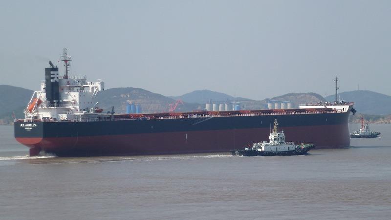 """常石造船海外集团公司的常石集团(舟山)造船有限公司,建成、交付了""""卡姆萨型散装货物船""""系列船的第198艘船舶"""