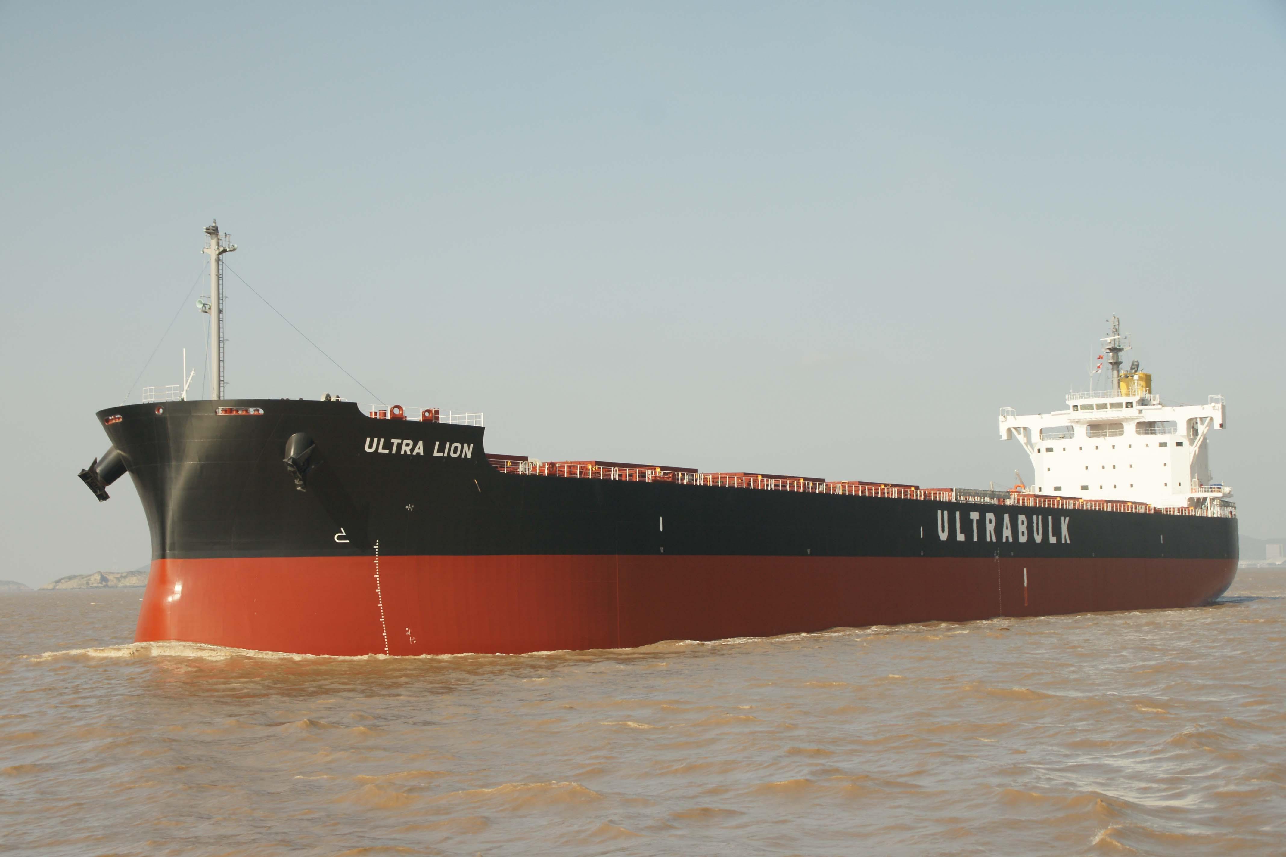 """常石造船独创船型8万2000吨型散装货船 """"KAMSARMAX BC""""( 卡姆萨型散装货船)历时9年零11个月完成200艘船舶的建造"""