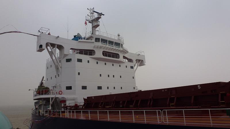 """""""TESS58""""系列散装货物船第157艘建成并交付~常石造船的海外(中国)集团公司常石集团(舟山)造船有限公司~"""