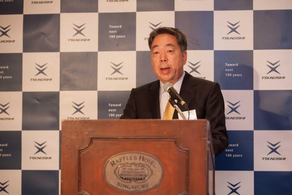 """常石造船在新加坡胜利举行""""TSUNEISHI Day 2015""""活动~130位亚洲客户莅临"""