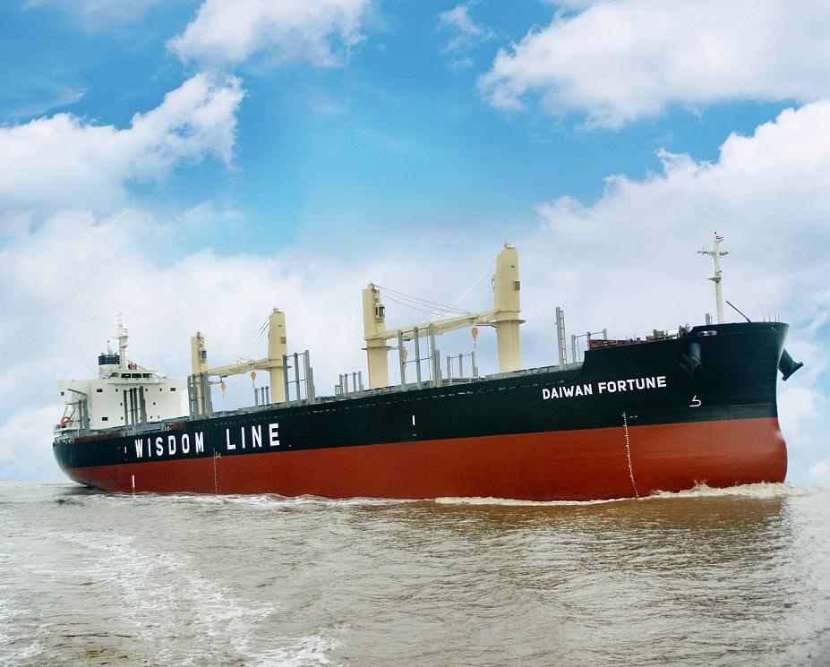 "TSUNEISHI ECONOMICAL STANDARD SHIP(TESS)系列新船型""TESS35"" 第3艘在常石集团(舟山)造船有限公司竣工并交付"