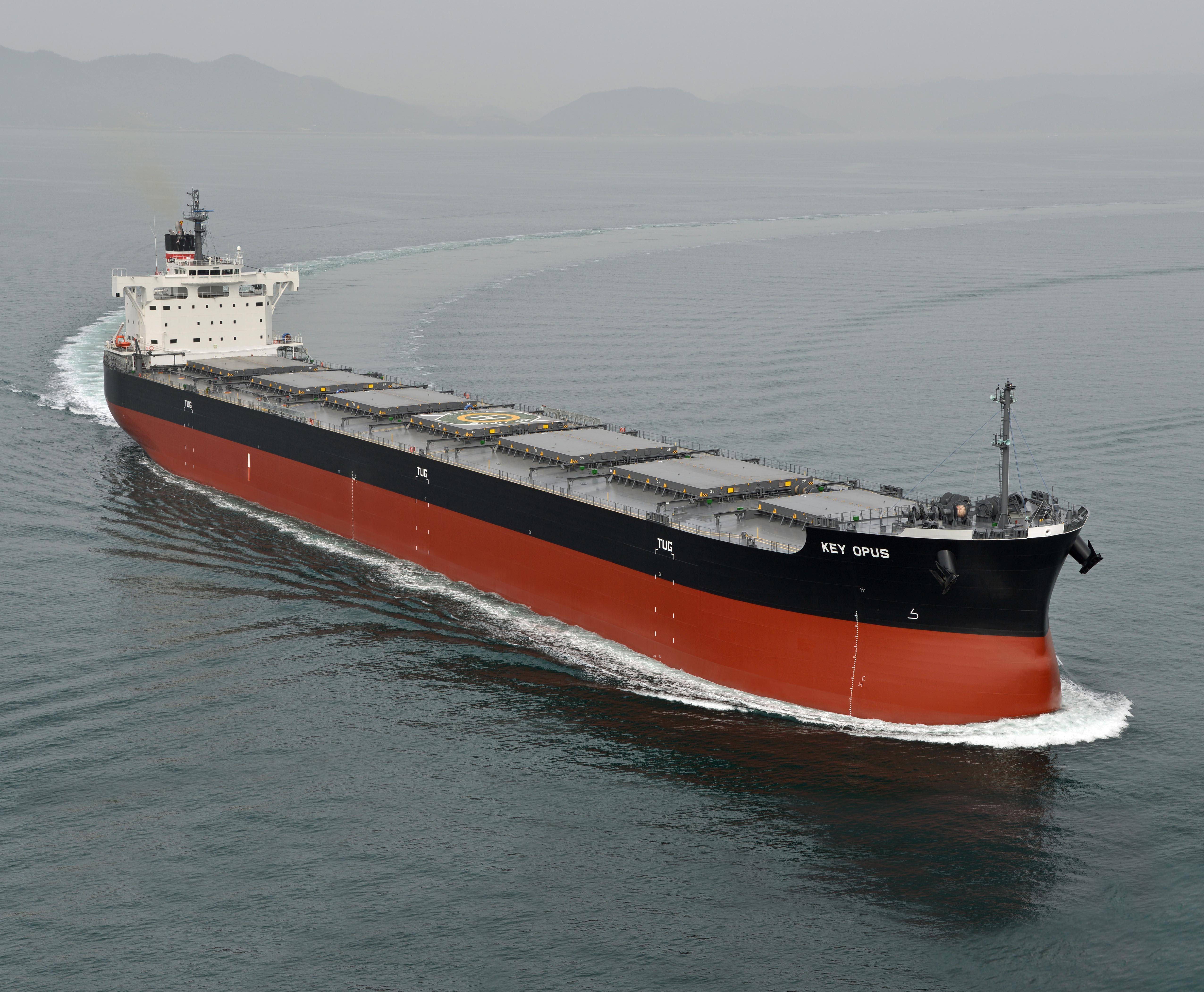 """""""卡姆萨型散装货物船""""系列第204艘建成并交付~常石集团的国内建造基地,常石造船株式会社"""