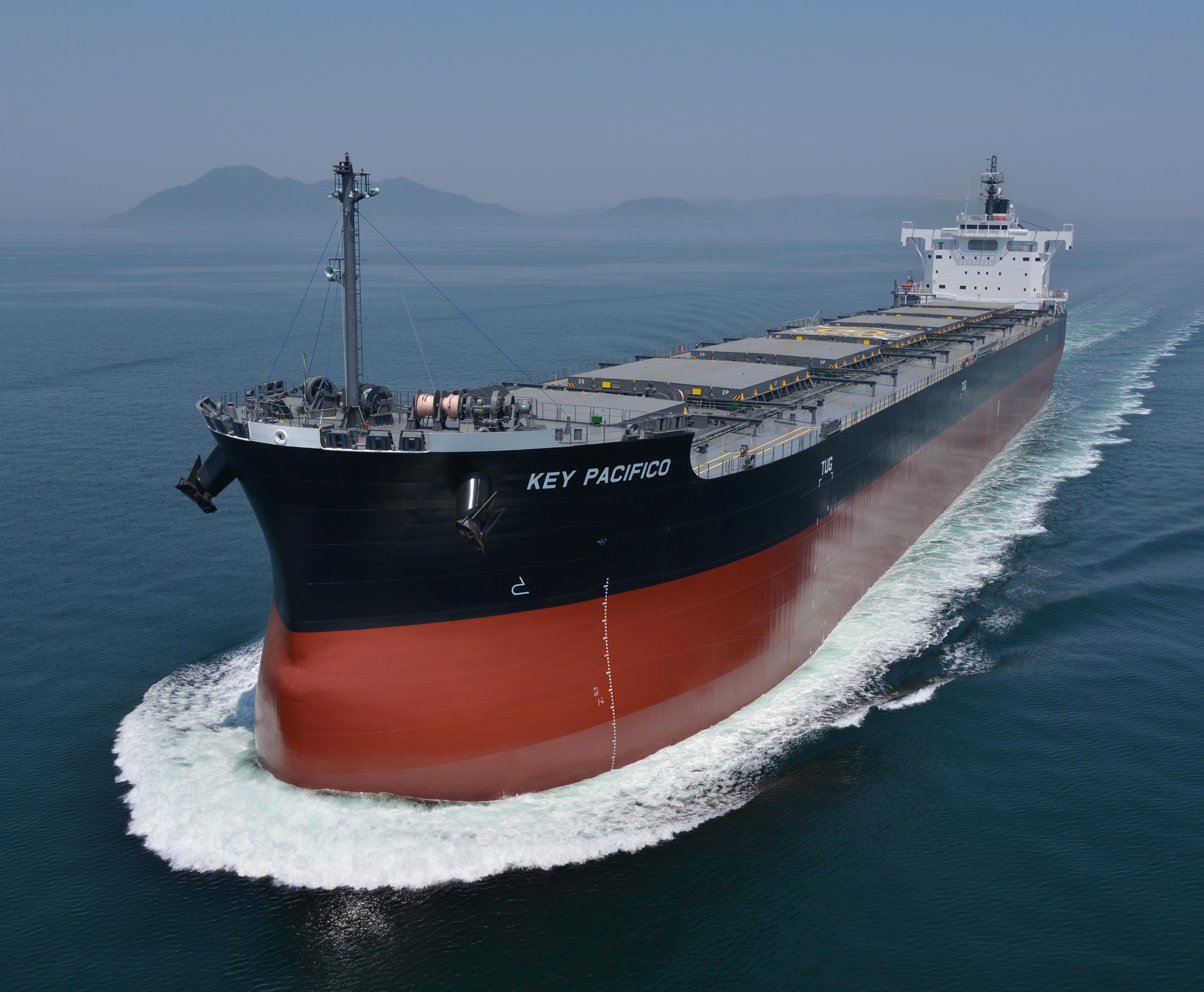"""""""卡姆萨型散装货物船""""系列第210艘建成并交付~常石集团的国内建造基地,常石造船株式会社"""