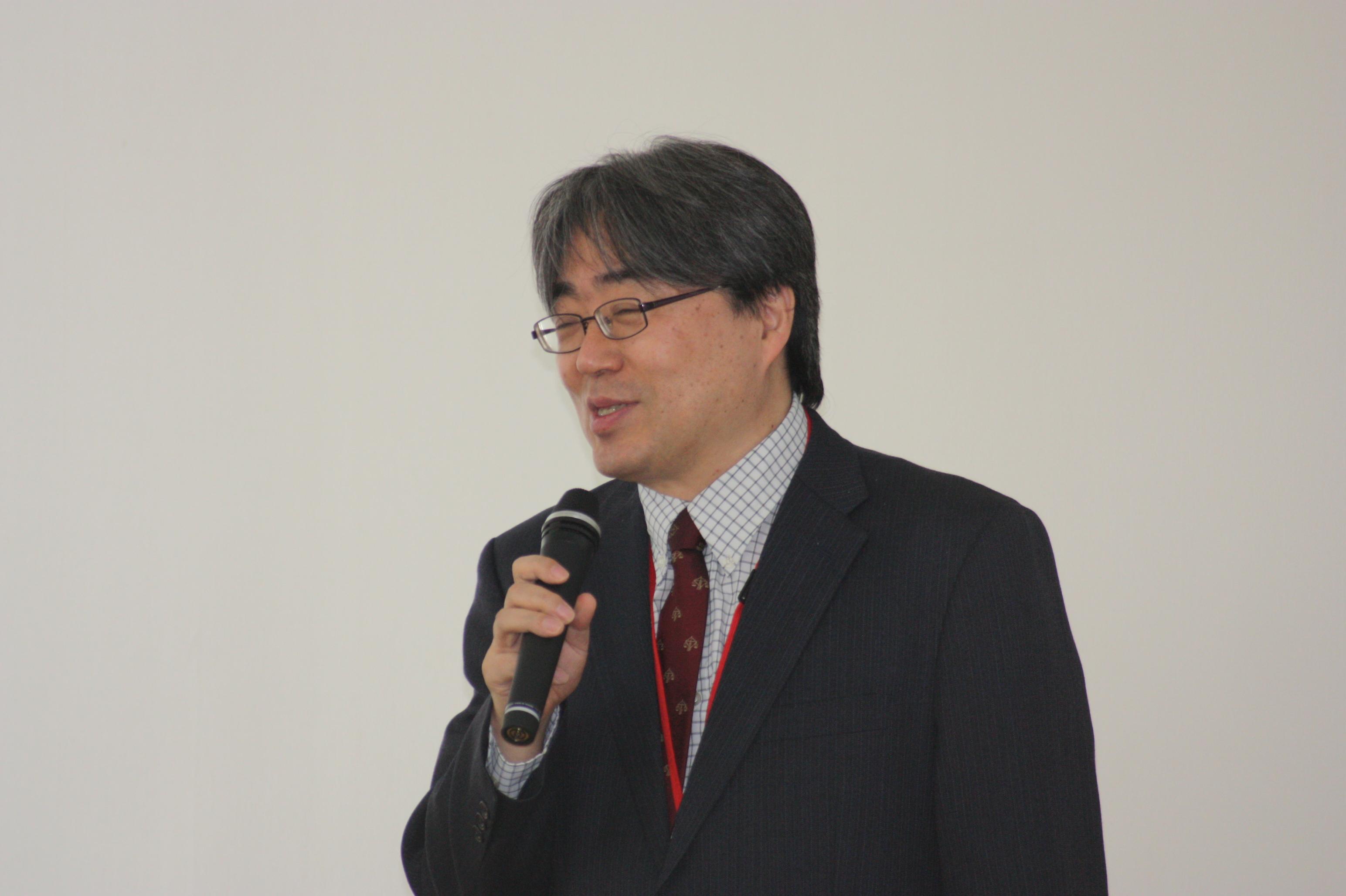 广岛大学研究生院工学研究院安川宏纪教授