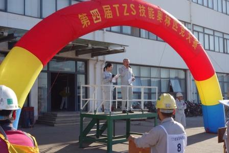 常石集团(舟山)造船有限公司:佐藤俊夫总经理致开幕辞