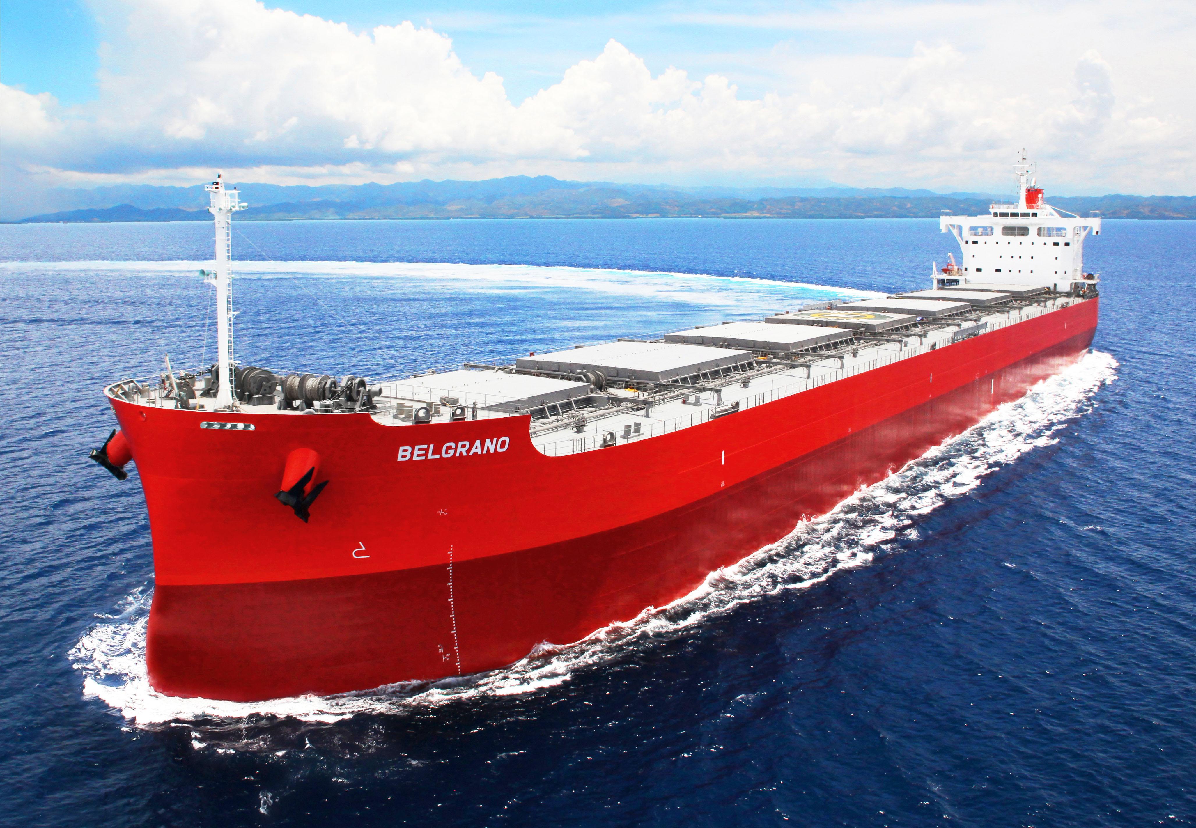 """""""卡姆萨型散装货物船""""系列第213艘建成并交付 ~常石造船的海外(菲律宾)集团公司TSUNEISHI HEAVY INDUSTRIES (CEBU), Inc."""