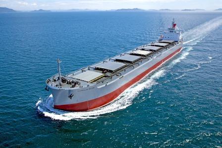 """""""卡姆萨型散装货物船""""系列第215艘建成并交付~常石集团的国内建造基地,常石造船株式会社"""