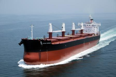 """TESS58""系列散装货物船第160艘建成并交付~常石造船株式会社"
