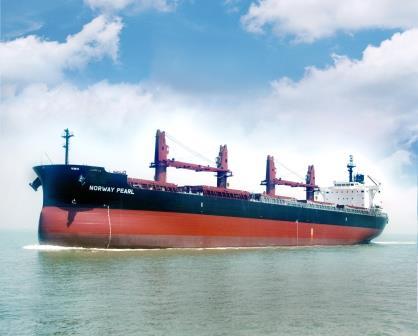 """常石造船的海外集团公司常石集团(舟山)造船有限公司,于8月14日建成并交付了TESS45后继船型""""TESS45BOX""""系列的第5艘船"""