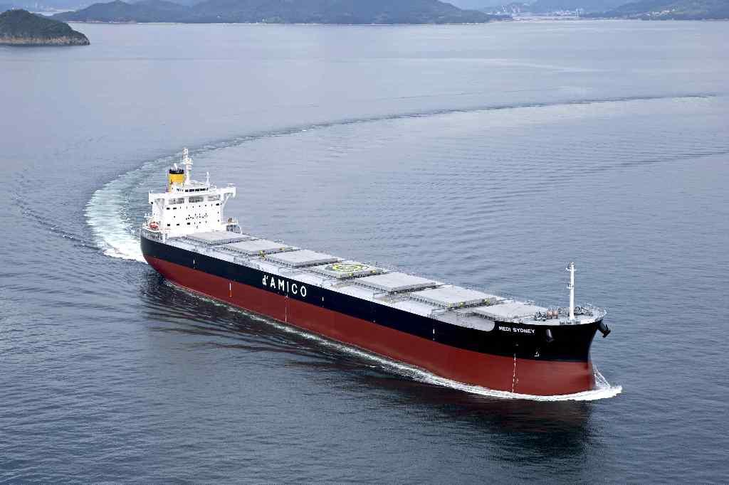 """""""卡姆萨型散装货物船""""系列第220艘建成并交付~常石集团的国内建造基地,常石造船株式会社"""