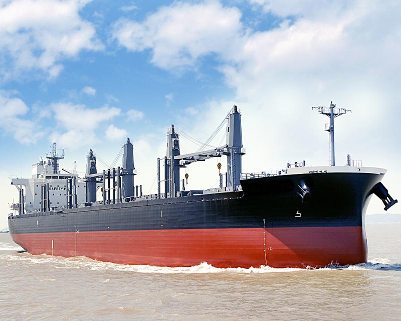 常石造船 首艘42000吨 TESS42散货船竣工 —引领大型灵便型船舶市场的发展—