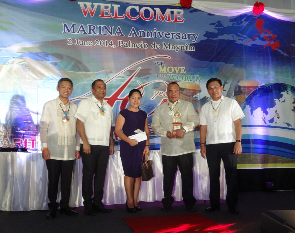 MARINA awards Tsuneishi the Timonel Award for Outstanding Maritime Entity