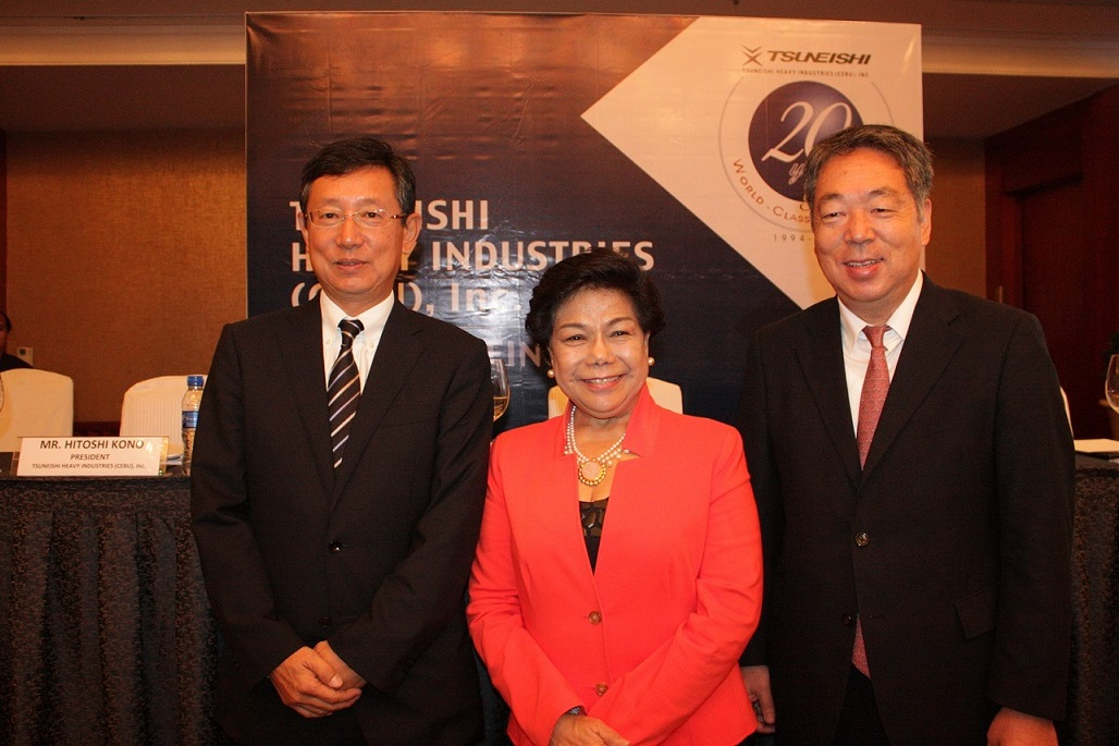 TSUNEISHI HEAVY INDUSTRIES (CEBU), Inc., has been in operation for over 20 years and will continue to pursue skill and quality as the representative shipyard of Asia