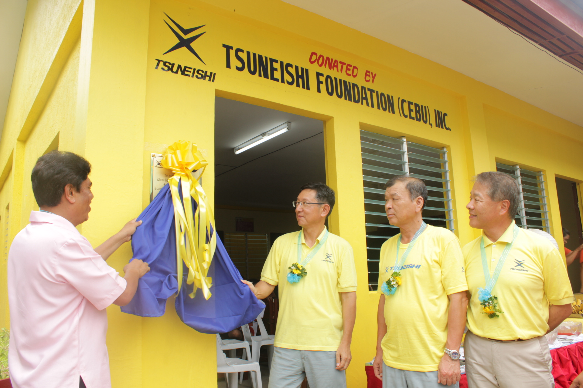 Donation to build a new classroom at Buanoy Elementary School~TSUNEISHI FOUNDATION (CEBU), Inc.~