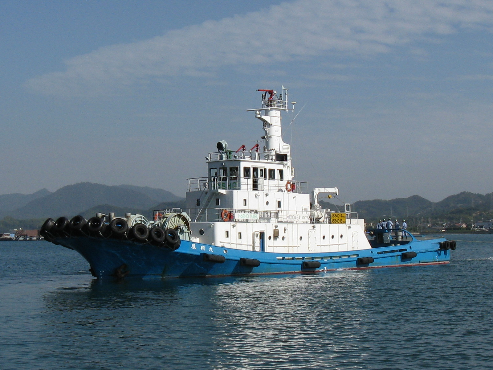 KAMBARA LOGISTICS Co., Ltd. Notice of establishment of new company via incorporation-type company split-KAMBARA TUG AND MARINE SERVICES Co., Ltd.-