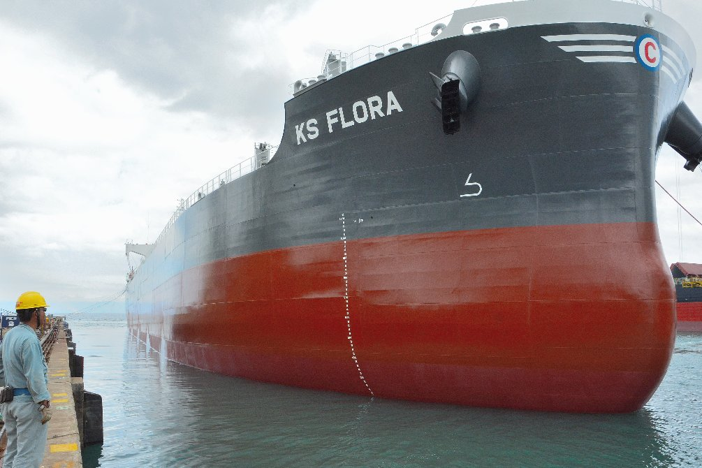 """Completes and Delivers the Group's 2nd """"TESS35"""" Bulk Carrier~TSUNEISHI HEAVY INDUSTRIES (Cebu), Inc. in Philippines"""