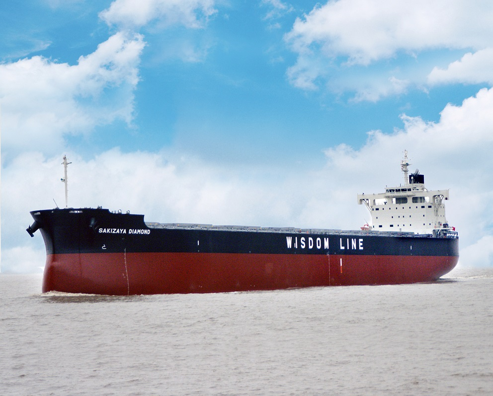 "Delivered the Group's 207th ""KAMSARMAX"" Bulk Carrier ~TSUNEISHI GROUP (ZHOUSHAN) SHIPBUILDING, Inc. in China"