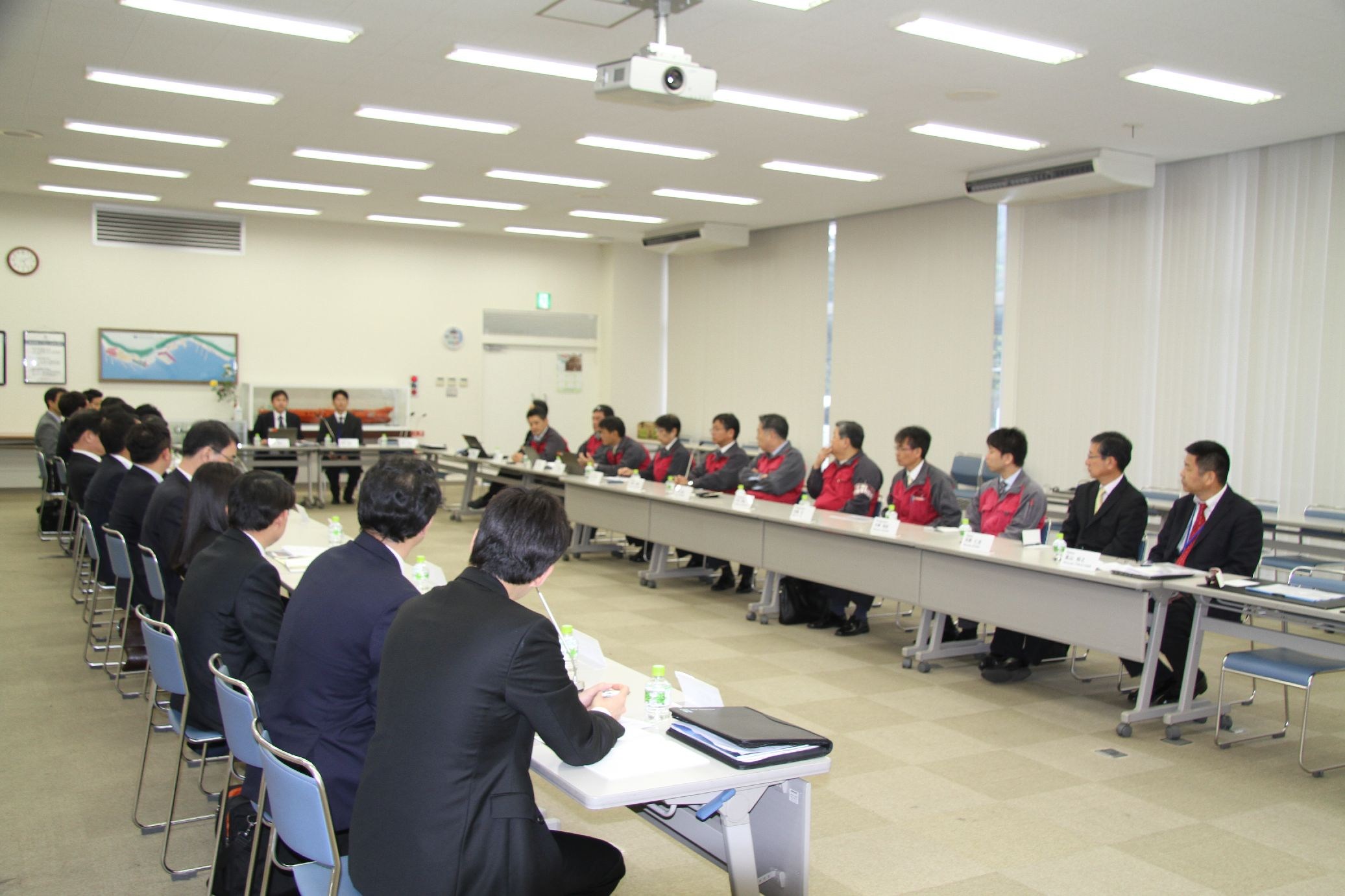 2015 Business Cooperation Conference 13th~Samsung Heavy Industries and TSUNEISHI SHIPBUILDING