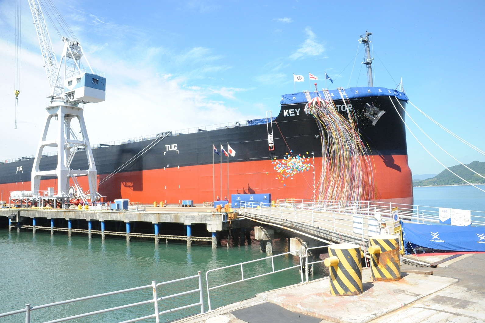 "TSUNEISHI SHIPBUILDING Co., Ltd., a Group Company of TSUNEISHI HOLDINGS CORPORATION, Completes and Delivers the Group's 188th ""KAMSARMAX"" Bulk Carrier"