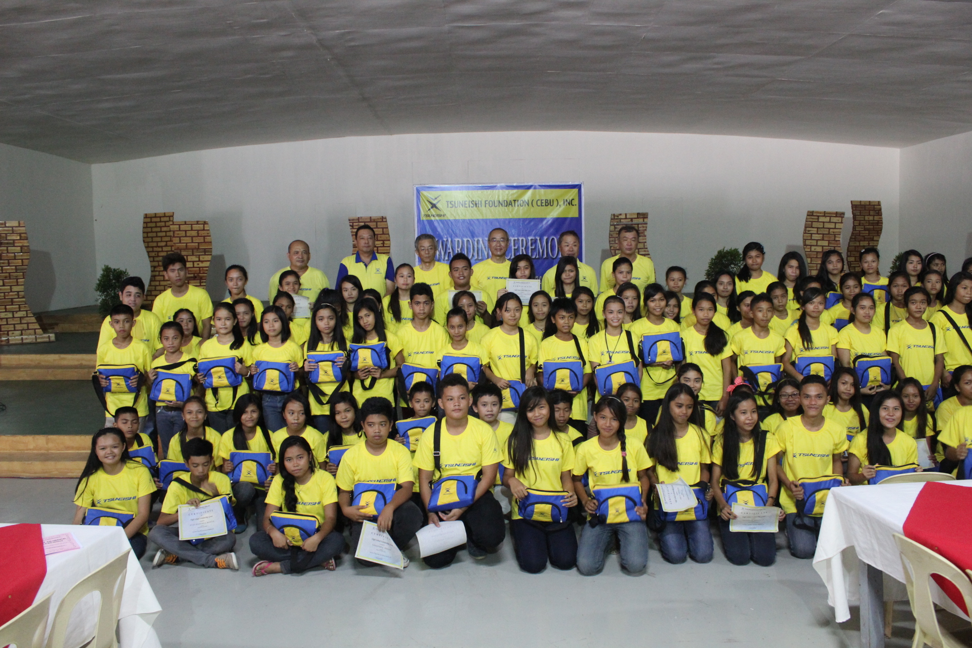 TSUNEISHI FOUNDATION (CEBU), INC. welcomes 102 candidates for high school scholarship and 30 candidates got the chance
