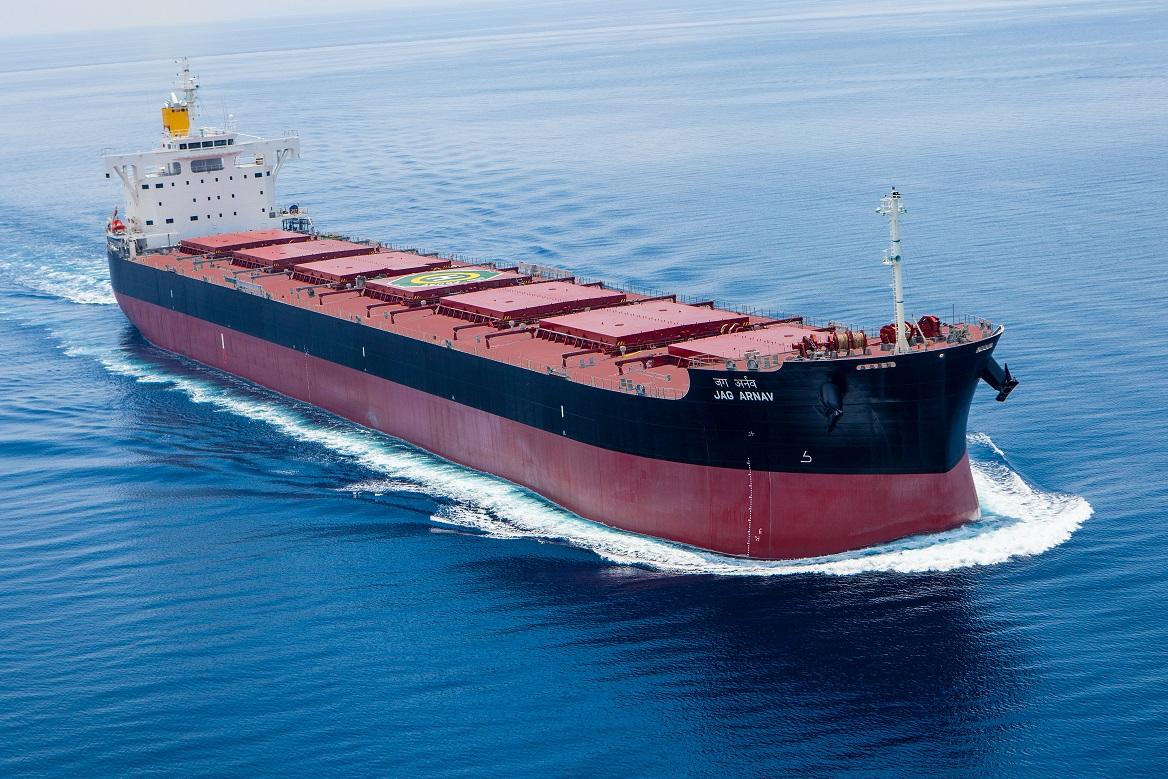"Delivers the Group's 211st ""KAMSARMAX"" Bulk Carrier~TSUNEISHI HEAVY INDUSTRIES (CEBU), Inc., in The Republic of the Philippines."