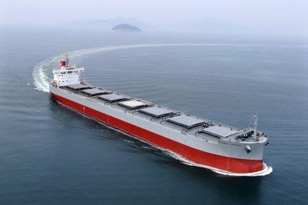 "Delivered the Group's 214th ""KAMSARMAX"" Bulk Carrier~TSUNEISHI SHIPBUILDING Co., Ltd., a Group Company of TSUNEISHI GROUP"