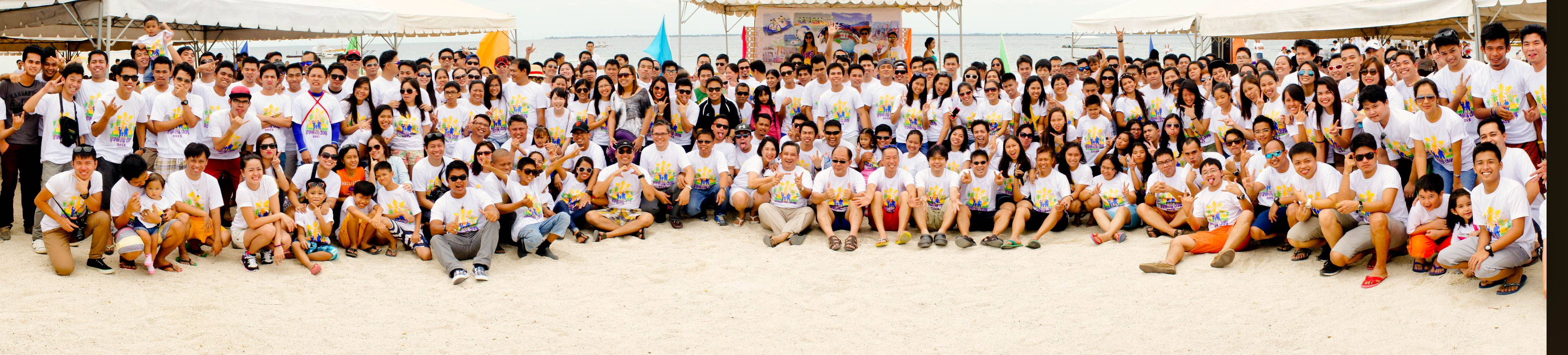 "TSUNEISHI TECHNICAL SERVICES (PHILS.), Inc. celebrated TTSP Family Day 2015 - ""T-LIFE: our Anchor for Success""."
