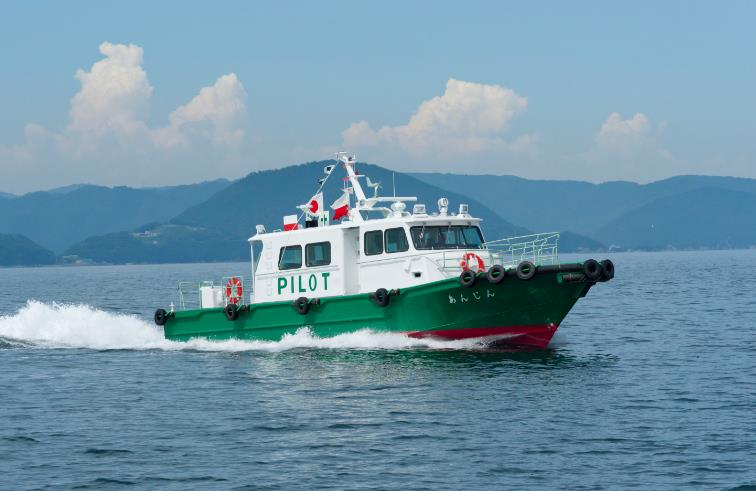 "TSUNEISHI FACILITIES & CRAFT completes and delivers the pilot boat ""Anjin"", ship model that operates quickly and safely"