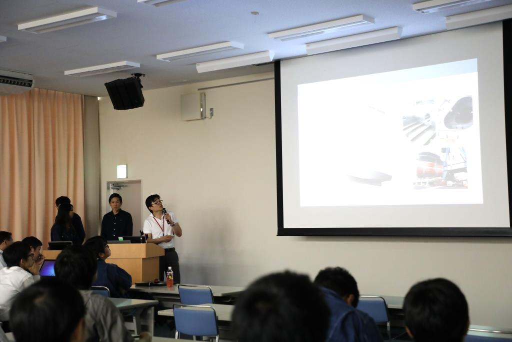 TSUNEISHI SHIPBUILDING Holds a Meeting to Present Results of Joint Research with Carnegie Mellon University
