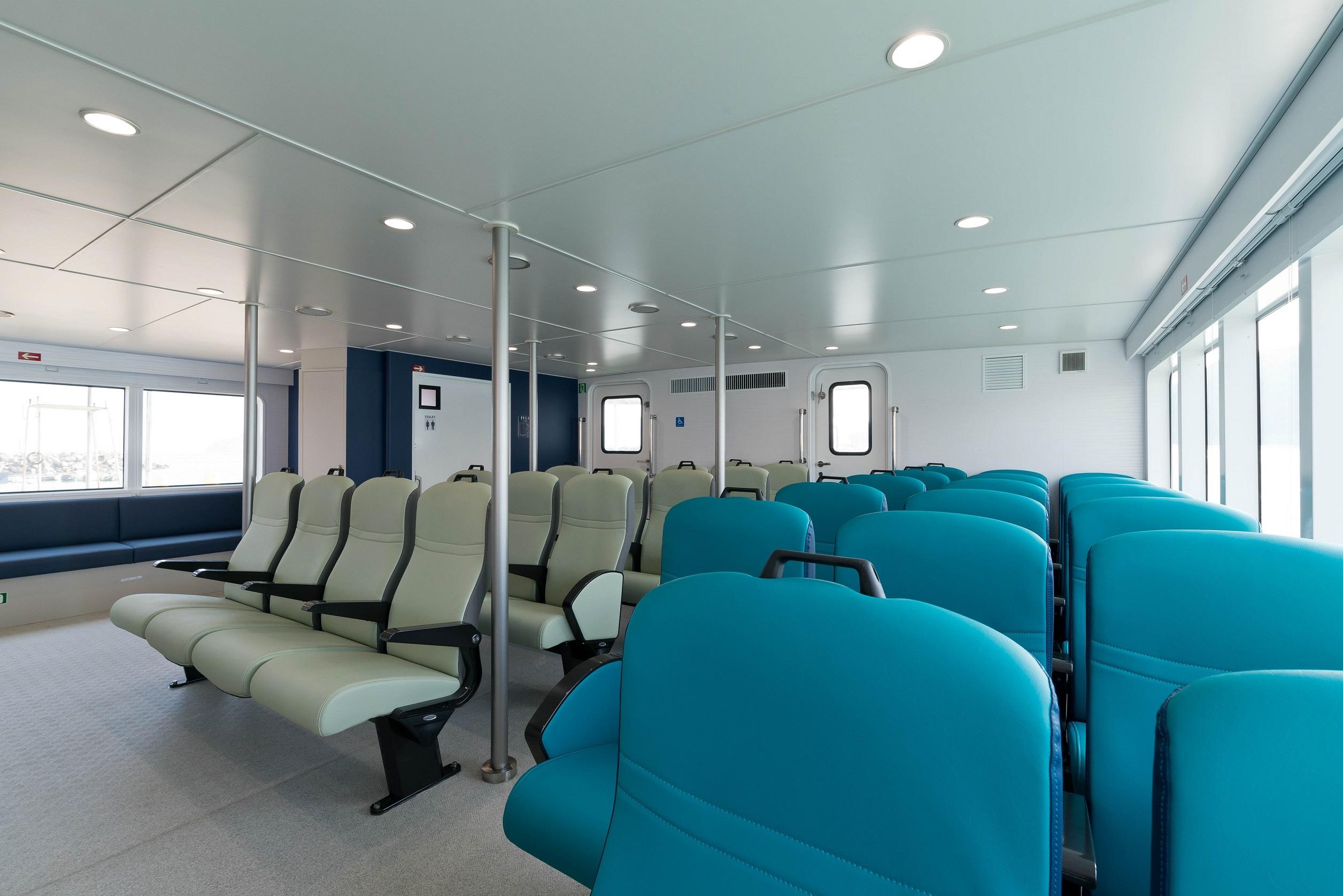 """Passenger rooms in """"Ferry KUDAKA III"""""""