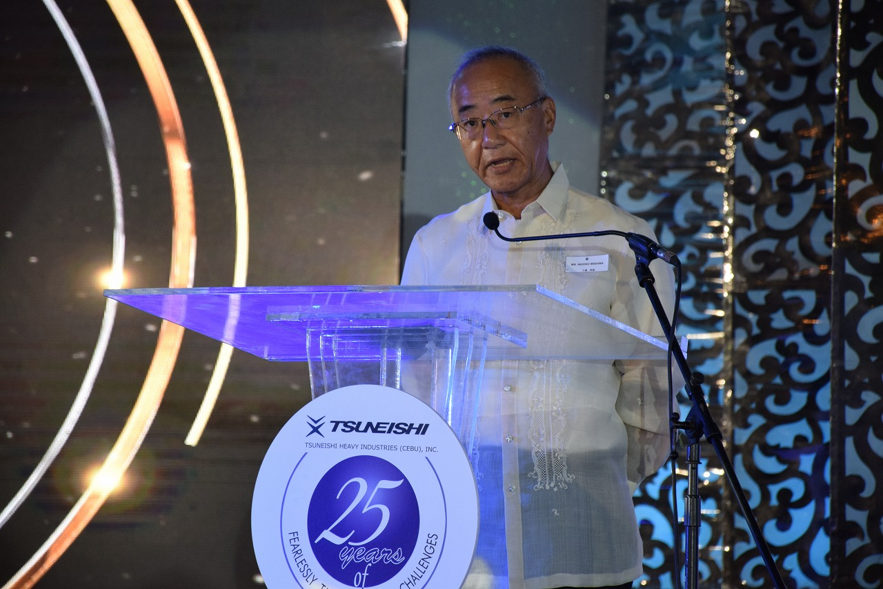 TSUNEISHI HEAVY INDUSTRIES (CEBU) Holds 25th Anniversary Ceremony