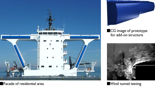Wind Resistance of Vessel's Superstructure Reduced by 10%- NYK and