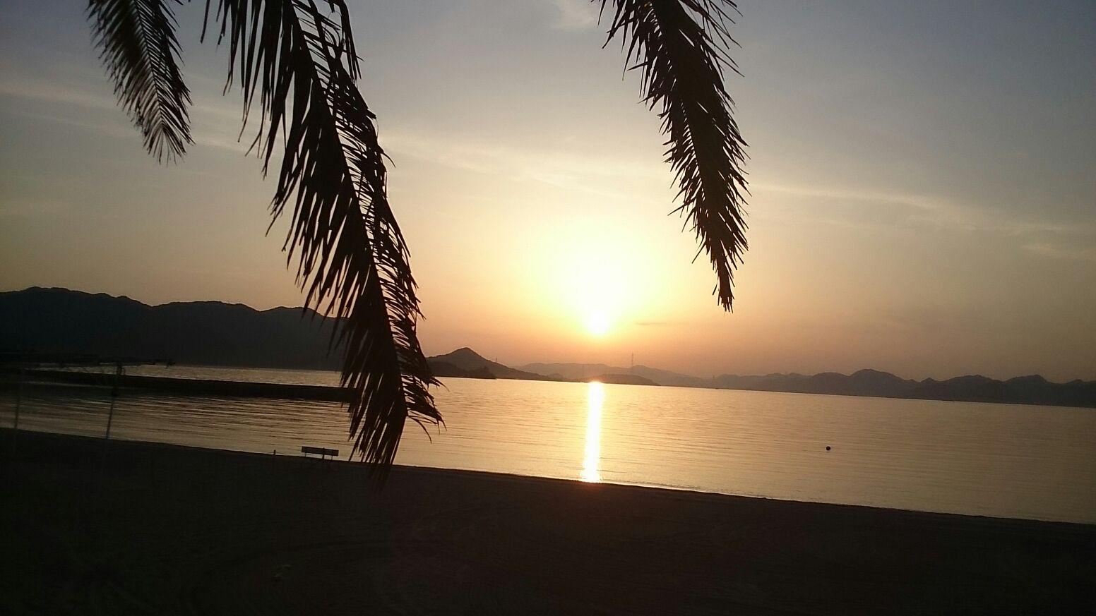 瀬戸田サンセットビーチ -夕暮れの時間帯-
