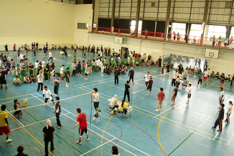 「常石グループスポーツ大会」を開催~ソフトバレーボール競技に従業員約500人が参加