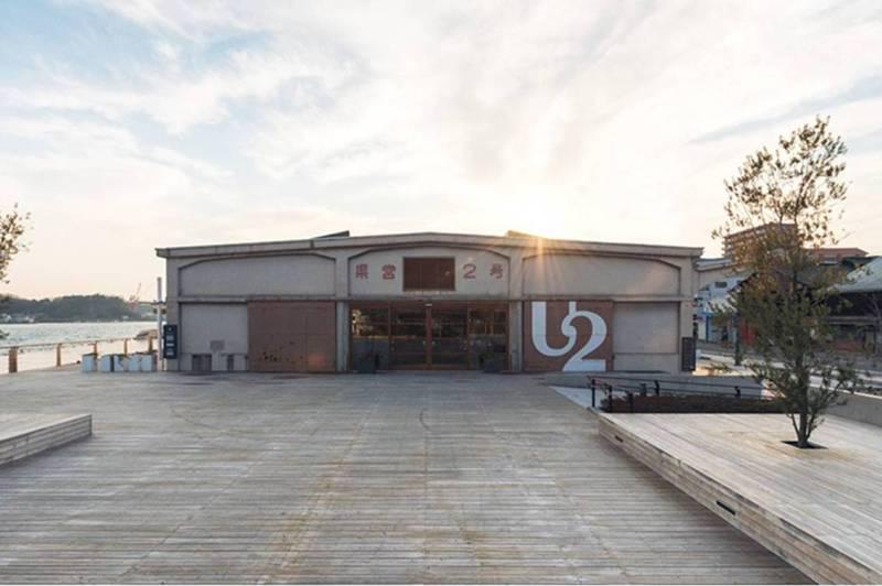 海運倉庫「上屋倉庫2号」を活かした広大な空間