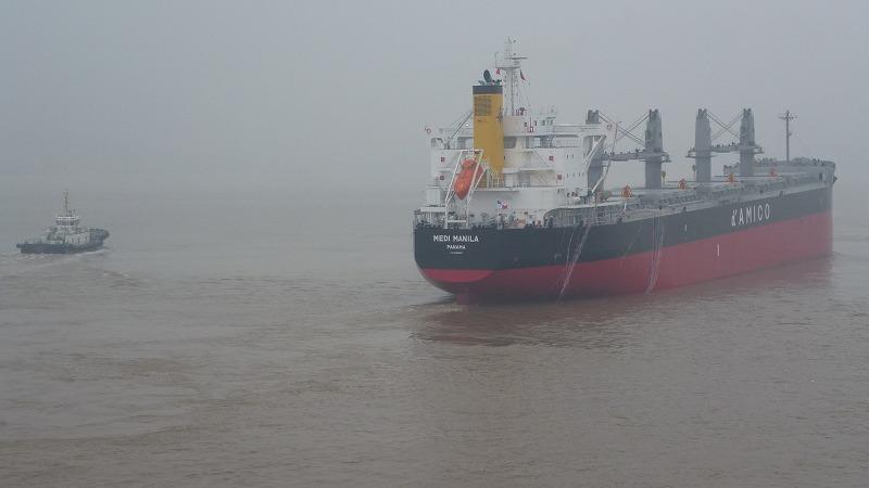 SS135出航