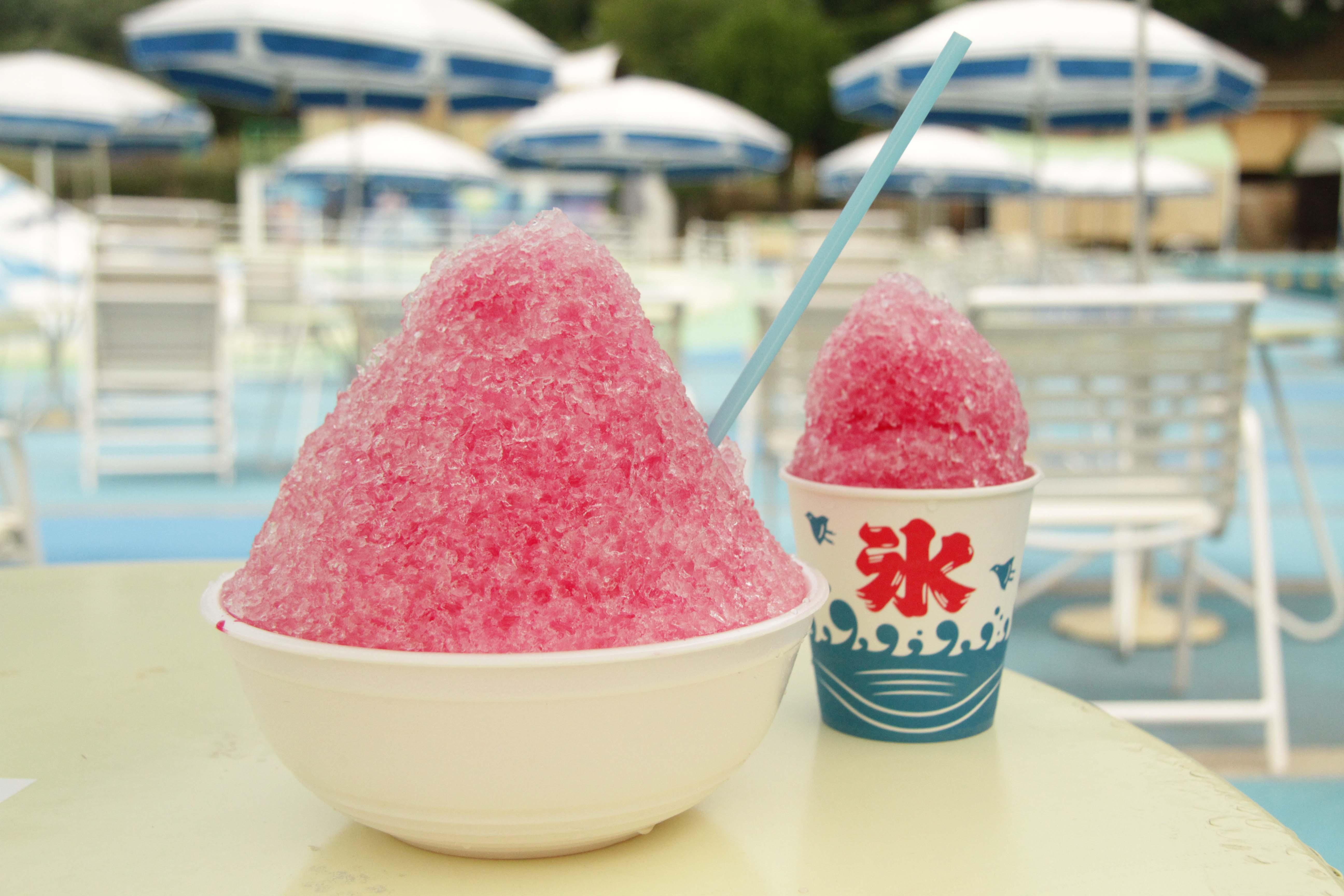開園25周年のみろくの里で、2.5倍サイズのかき氷を毎日25杯限定で販売!みろくにGo(25)!!〜7月12日から7月31日まで