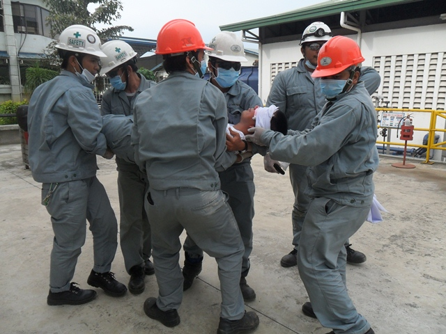 TSUNEISHI HEAVY INDUSTRIES (CEBU), Inc.がフィリピン赤十字社と救急救命訓練を実施