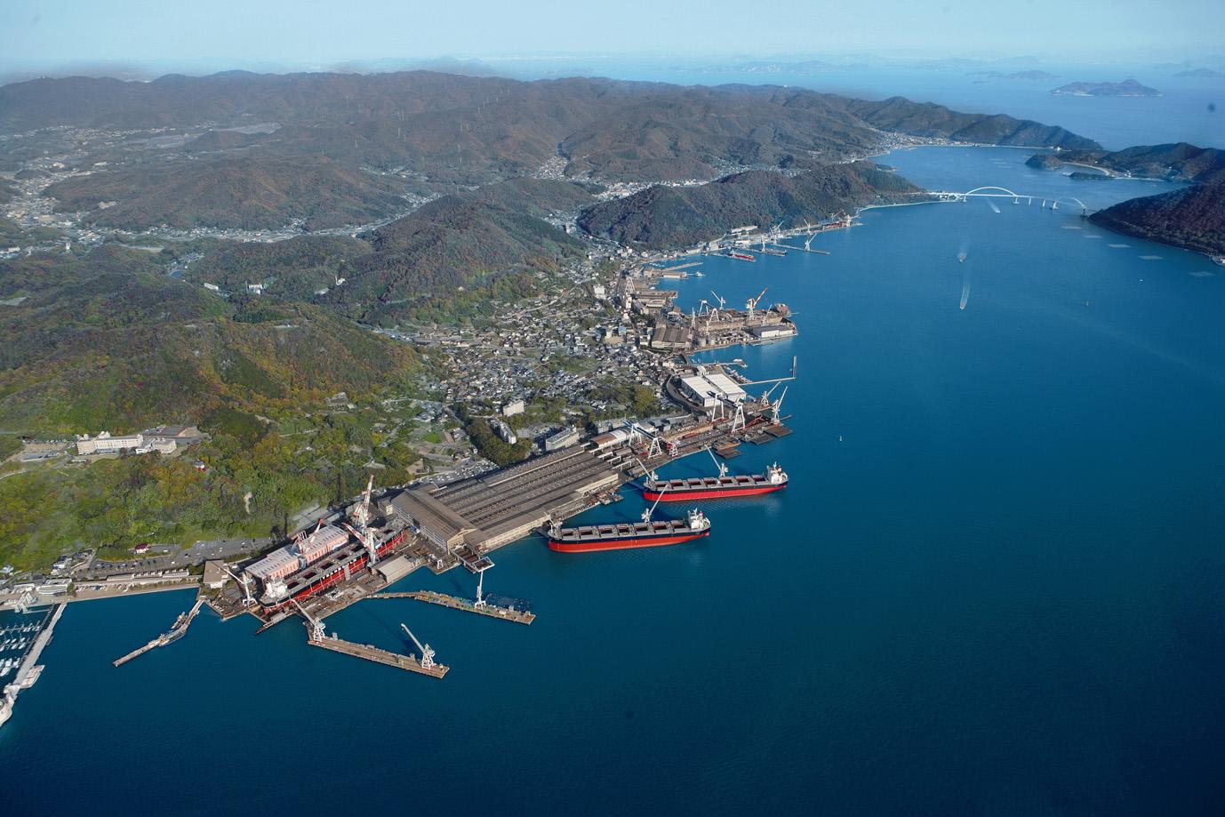 造船業を中核事業とするツネイシホールディングス