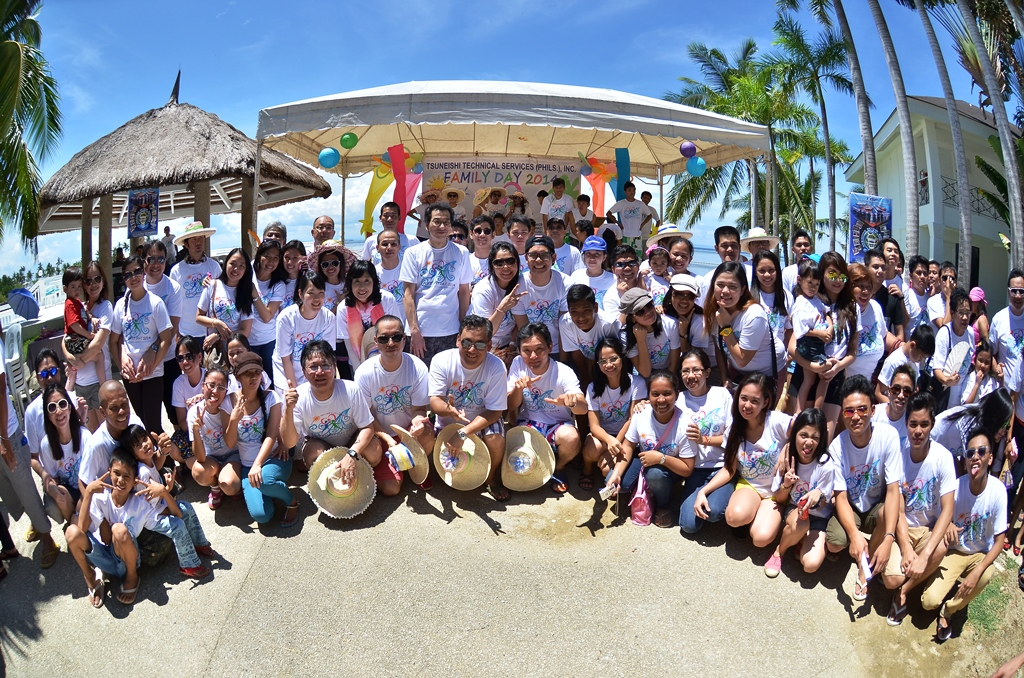 """TSUNEISHI TECHNICAL SERVICES (PHILS.), Inc.が2014 年度TTSPファミリーデーを開催。今年のテーマは """"Strong Family Values Create a Well-Rounded You""""。"""