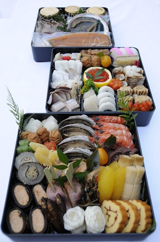 祝いおせちベラビスタ(40品+自家製珍味)