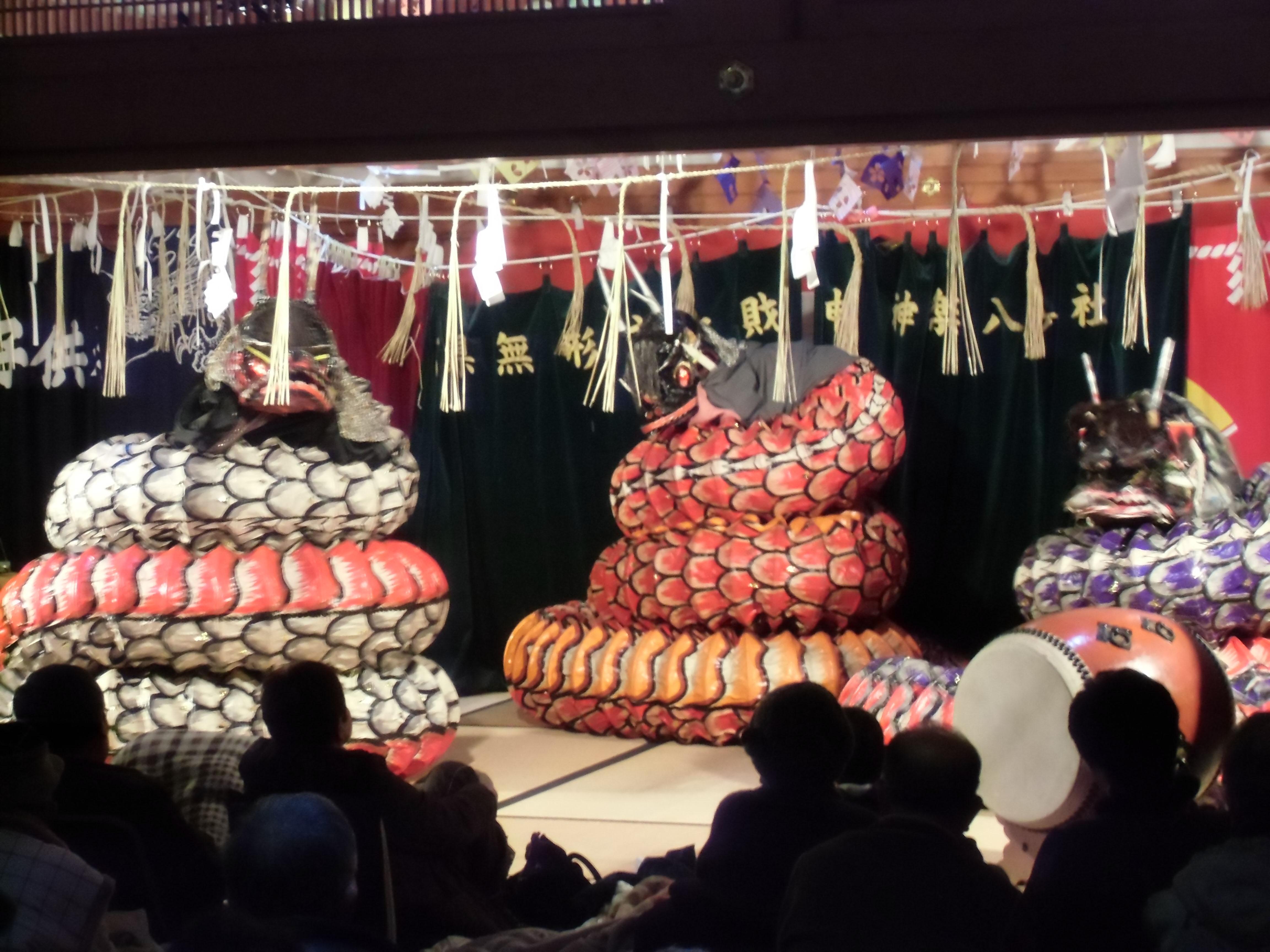 「第8回光信寺新春神楽共演会」2015/1/3開催-文化伝統活動を支援するツネイシみらい財団